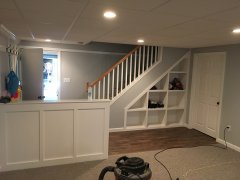 Pelham, NH Finished basements